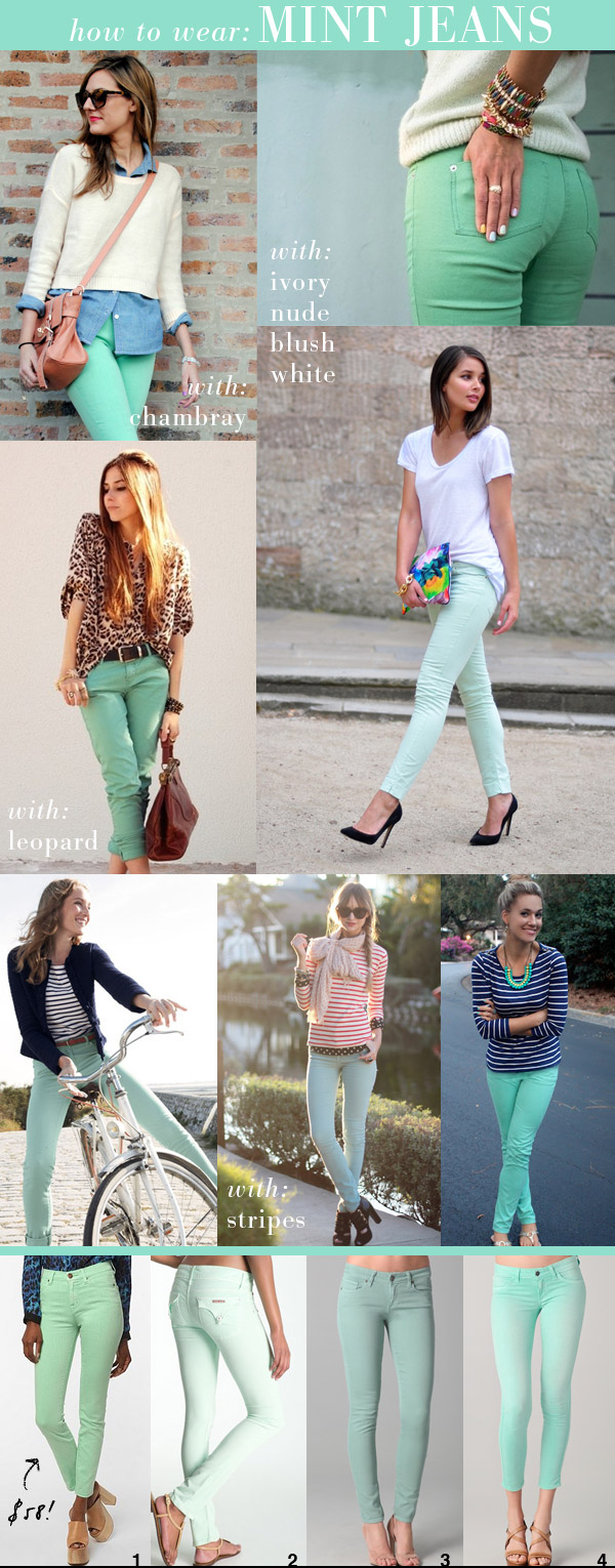 Small-shop-mint-jeans