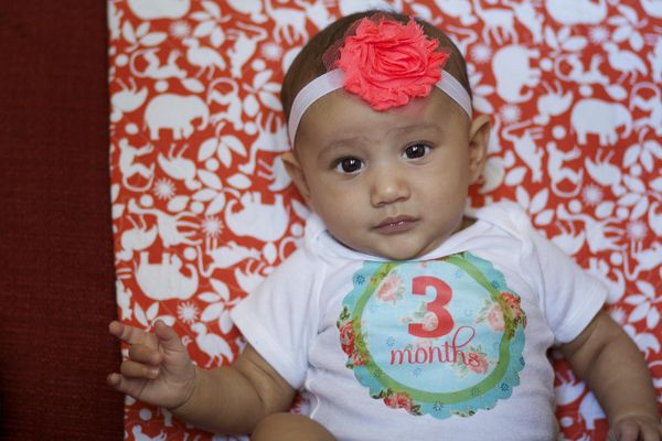 LiFe {unscripted}: Hello. I'm 3 months old today!